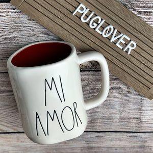 "🆕 RAE DUNN Valentine ❤️ mug ""MI AMOR"""